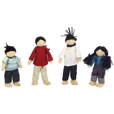 Djeco - jouet famille de poupées Njb