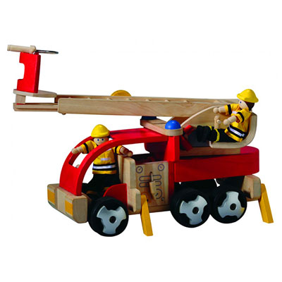 Plantoys - jouet camion de pompiers Njb