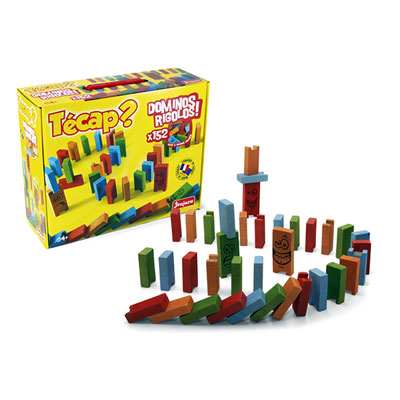 Jeujura - jouets tecap dominos rigolos - 152 pieces Njb