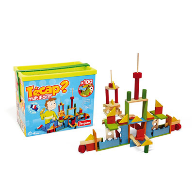Jeujura - jouets tecap multiform - 100 pieces Njb