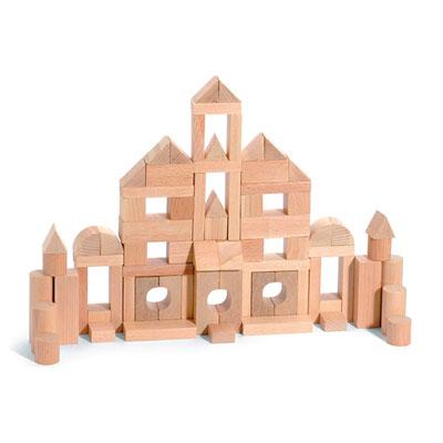 Jeujura - jouets tecap minibois - 100 pieces Njb