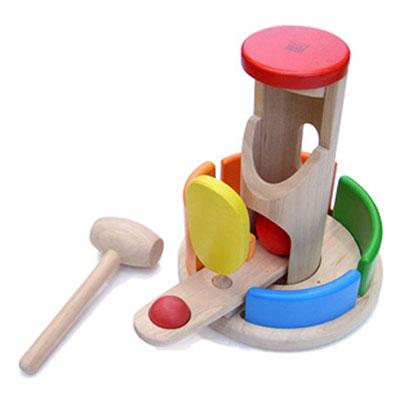 Plantoys - jouet tour à marteler Njb