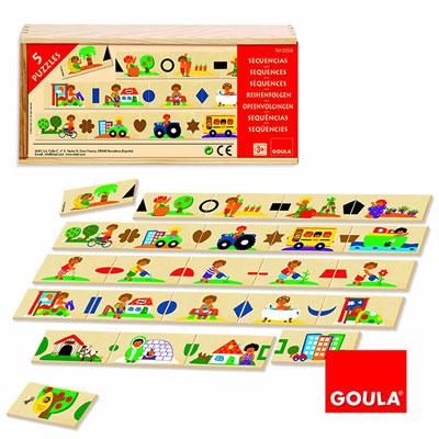 Goula - jouet domino séquences Njb
