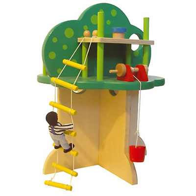 Au sycomore - jouet cabane dans l'arbre Njb