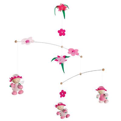 Selecta - jouet mobile rose rosali Njb