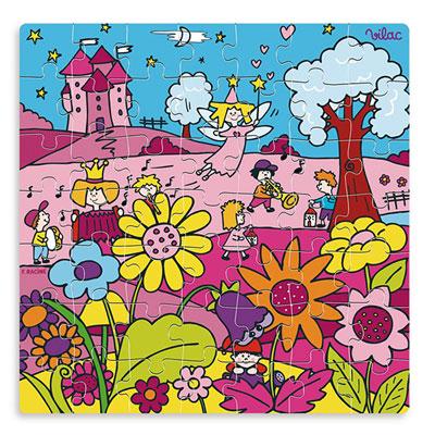 Vilac - jouet puzzle princesse Njb