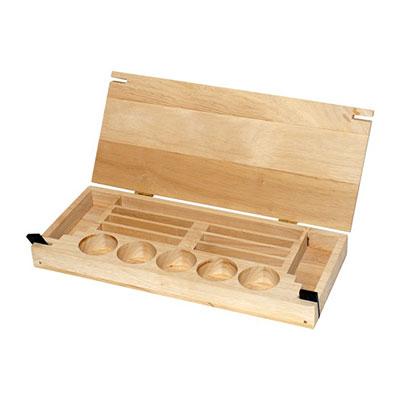 Small foot company - jouet caisse de rangement pour perles à enfiler Njb
