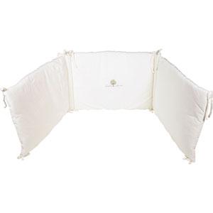 Tour de lit bébé 45x190cm écru