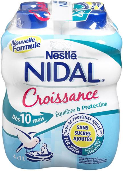 Lait de croissance Nidal dès 10 mois ou dès 2 ans en promo dans Alimentation nes3305762