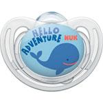 Sucette silicone taille1 freestyle baleine garçon