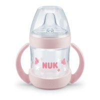 Tasse d'apprentissage bébé nature sense rose150ml