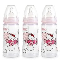 Lot de 3 biberons first choice+ hello kitty 300ml