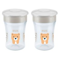 Lot de 2 tasses magic cup mixte