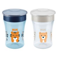 Lot de 2 tasses magic cup garçon