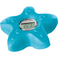 Thermomètre de bain digital étoile de mer bleu