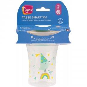 Tigex Tasse bébé smart cup colors embout 360° 250ml