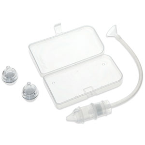 Mouche bébé double filtre avec boîte de transport + 2embouts jetables