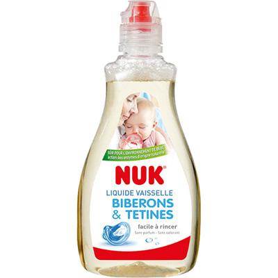Liquide nettoyant pour biberons et tétines Nuk