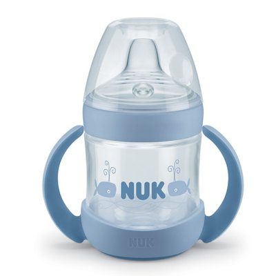 Tasse d'apprentissage bébé nature sense bleu 150ml Nuk