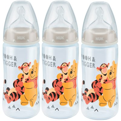 Lot de 3 biberons first choice+ winnie 300ml Nuk