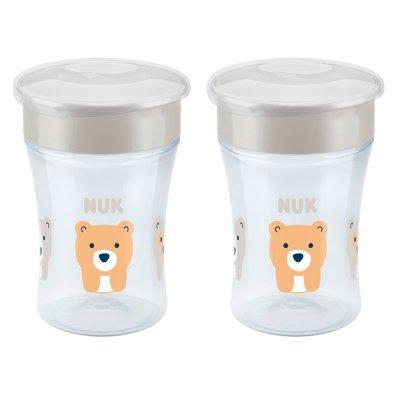 Lot de 2 tasses magic cup mixte Nuk