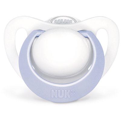 Sucette silicone genius naissance bleu Nuk