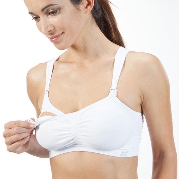 Brassière de la grossesse à l'allaitement taille 2 blanc Nuk