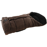 Chancelière iglu thermo fleece marron