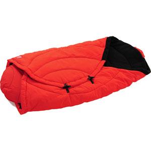Couverture bébé coo coon rouge/noir