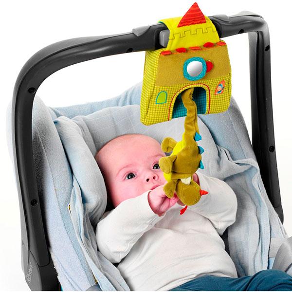 Jouets de lit bébé le château musical walter Lilliputiens