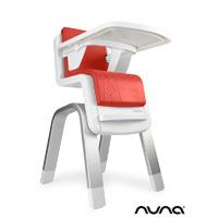 Chaise haute bébé zaaz évolutive rouge
