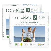 Lot de 2 paquets de couches écologiques jetables taille 3 4-9kg