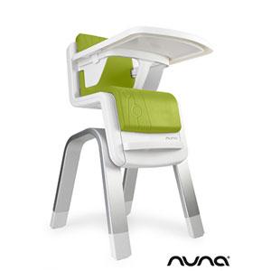 Chaise haute bébé zaaz évolutive vert citron