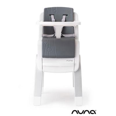 Chaise haute bébé zaaz évolutive carbone Nuna