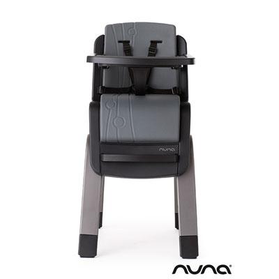 Chaise haute bébé zaaz évolutive pewter Nuna