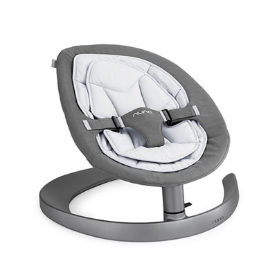 Transat bébé oscillant leaf curve french grey Nuna