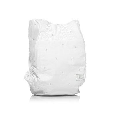 Lot de 2 paquets de couches écologiques jetables taille 4 7-18kg Naty
