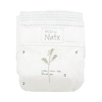 Lot de 2 paquets de couches écologiques jetables taille 4+ 9-20kg Naty