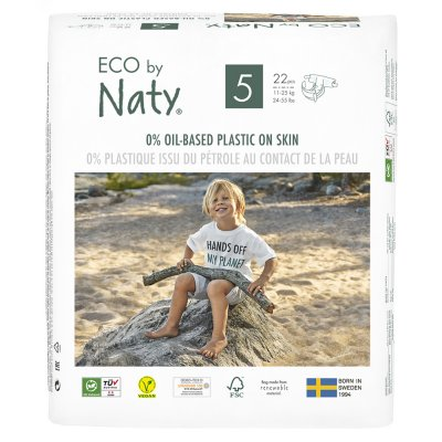 Couches écologiques jetables taille 5 11-25kg Naty