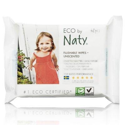 Lingettes toilettes eco 42 pièces Naty
