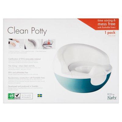 Pot d'apprentissage potty (livré avec 1 rouleau de sac) Naty