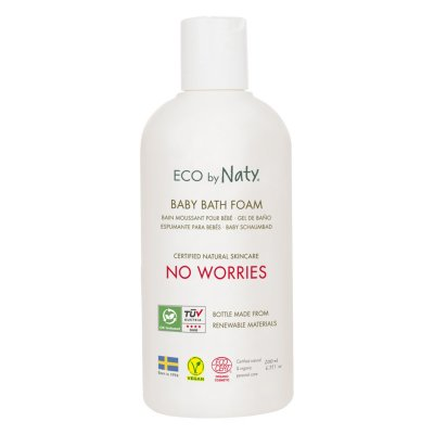 Bain moussant bébé 200ml eco by naty Naty