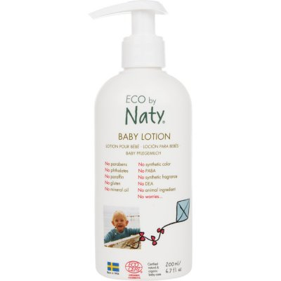 Lotion corps bébé 200ml eco by naty Naty