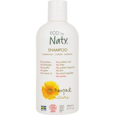 Shampoing famille 200ml eco by naty Naty