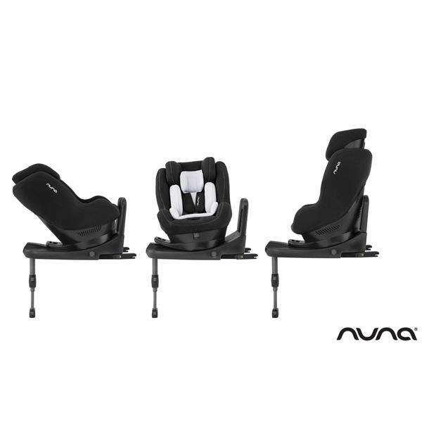 Siège auto rebl i-size caviar groupe 0+/1 Nuna
