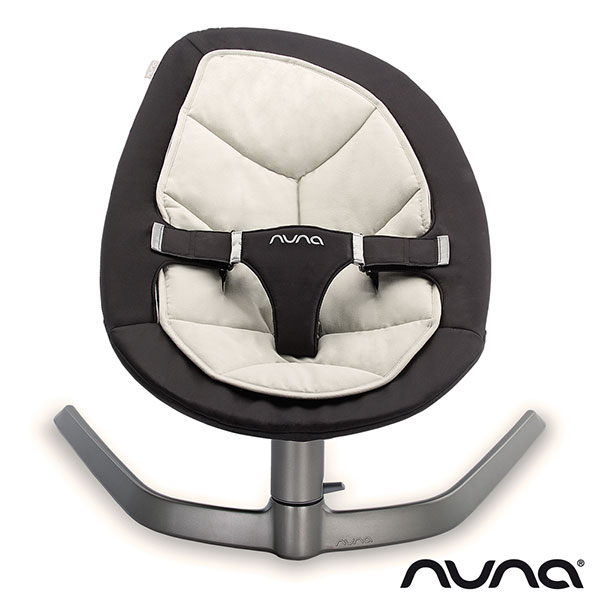 Transat bébé oscillant leaf black & white Nuna