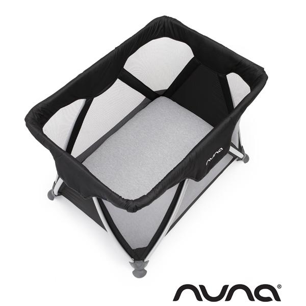 Drap housse avec alèse intégrée gris Nuna