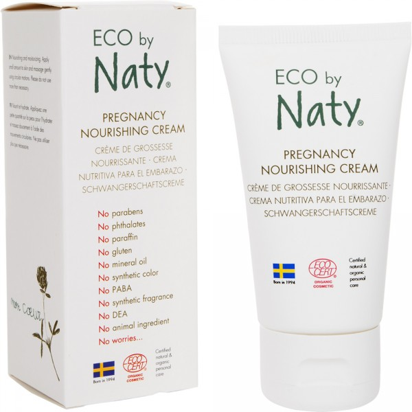 Crème nourrissante corps 50ml eco by naty