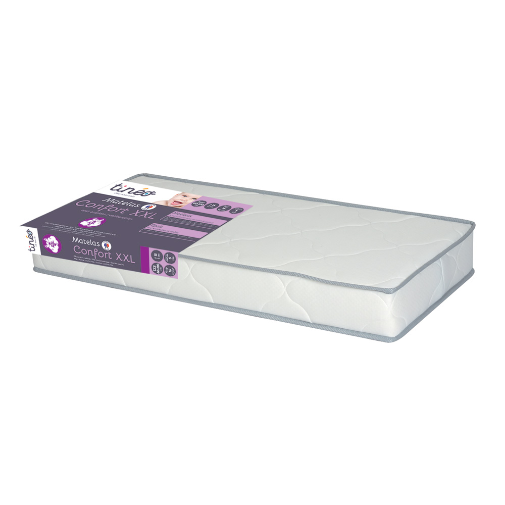 matelas b b confort paisseur xxl 60x120cm de tineo sur allob b. Black Bedroom Furniture Sets. Home Design Ideas