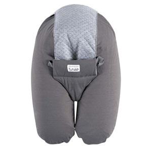 Coussin de maternité évolutif multirelax jersey gris/gris